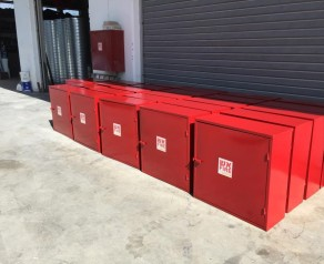 Fire cabinets production according to the standard
