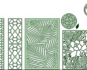 CNC cutting shapes